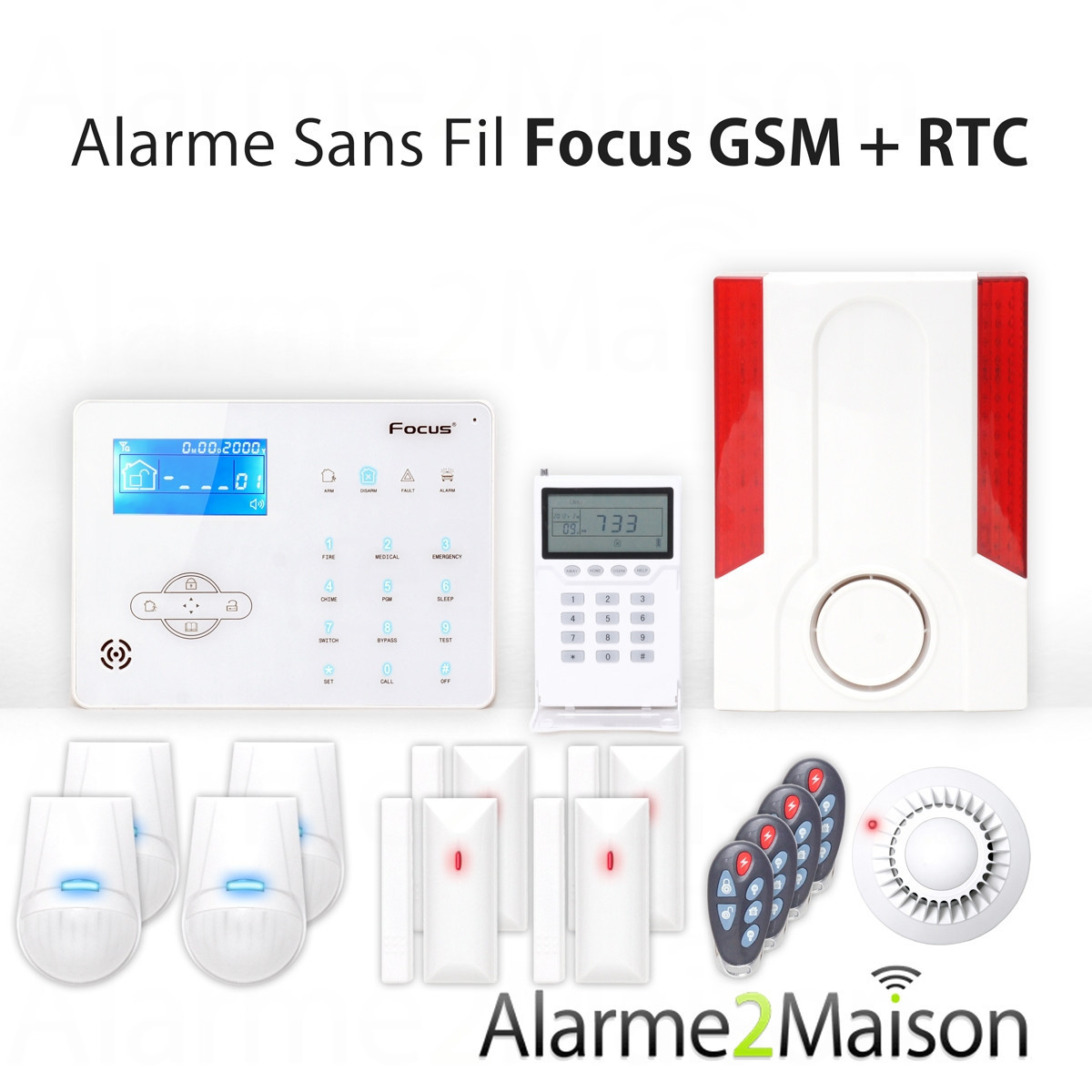 Abonnement alarme maison top centrale dualarme sans fil for Alarme securitas sans abonnement