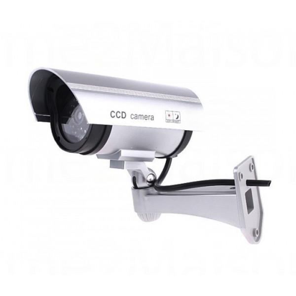 Caméra Factice extérieure avec LED intégrée