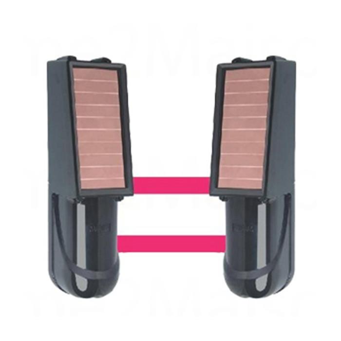 Barrière infra-rouge sans fil solaire FOCUS 20 à 50 mètres