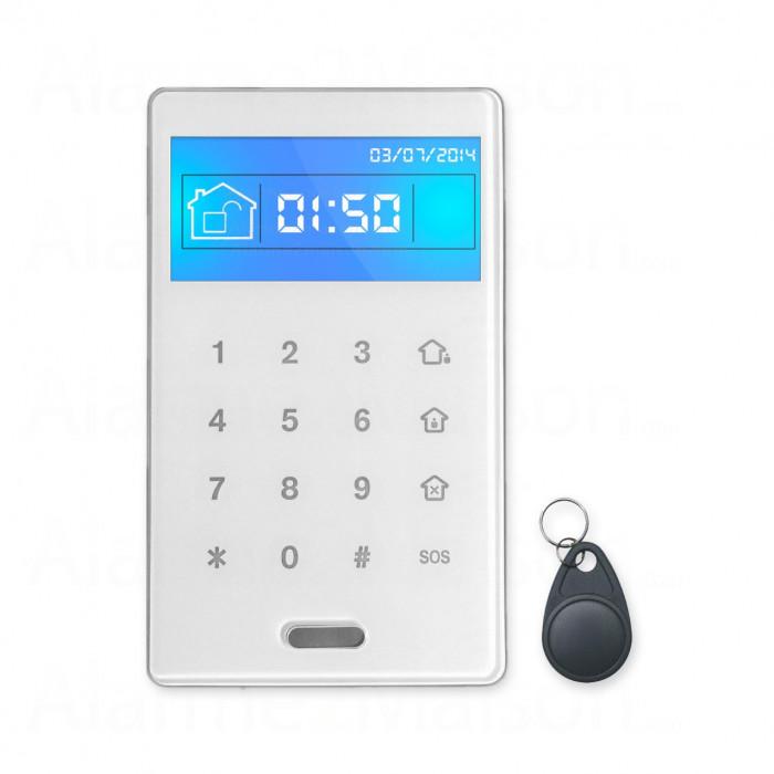 Clavier déporté FOCUS Tactile et RFID sans fil