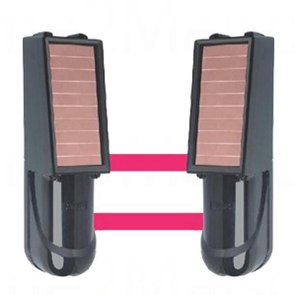 Barrière infra-rouge sans fil solaire FOCUS 50 à 100 mètres