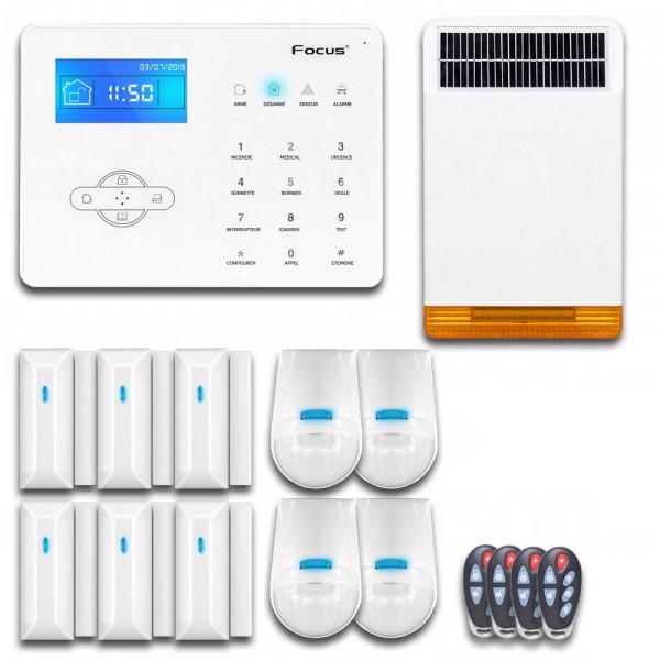 Maxi Pack Alarme sans fil GSM