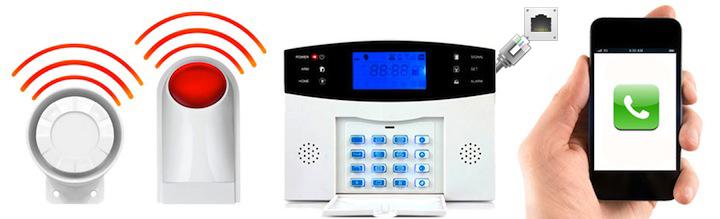 alerte alarme maison Téléphonique