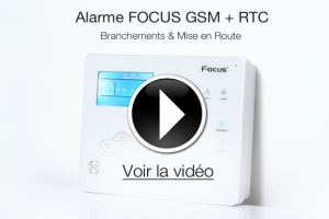 VIDEO - Branchement & mise en route de votre Alarme FOCUS